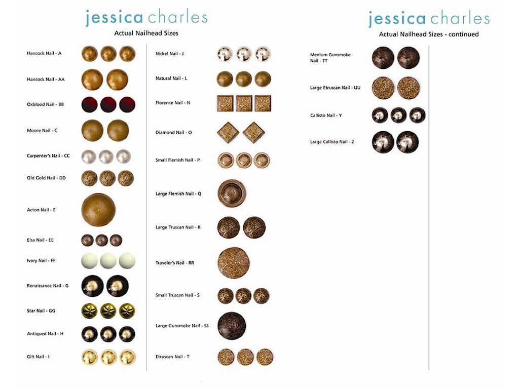 Jessica Charles Fine Upholstered AccentsRhonda Swivel Chair