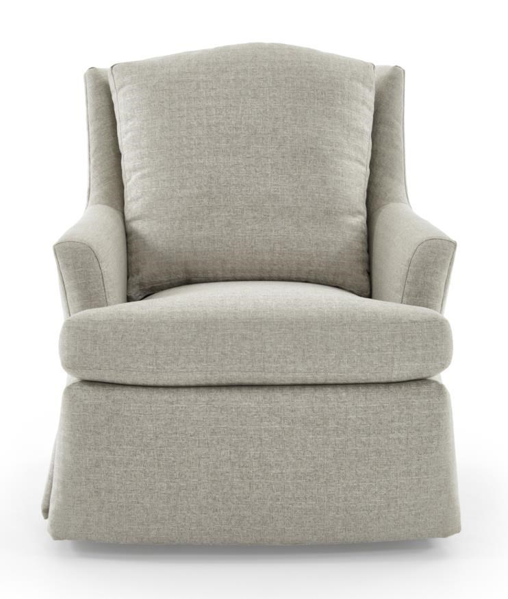 Jessica Charles Fine Upholstered AccentsCagney Swivel Rocker ...