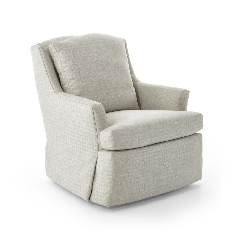 ... Jessica Charles Fine Upholstered AccentsCagney Swivel Rocker ...