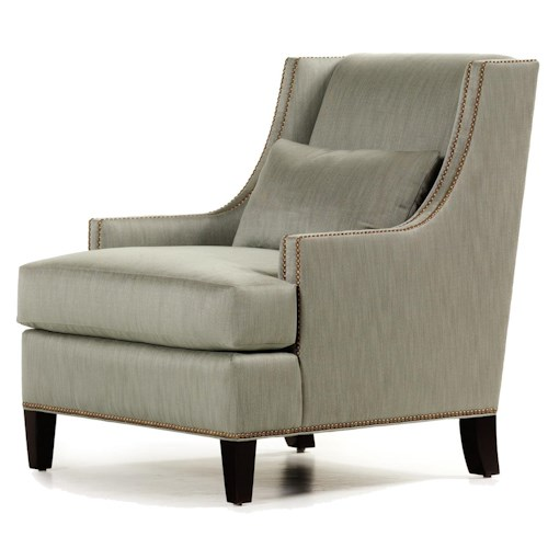 Sofa Mart Accent Chairs: Jessica Charles Fine Upholstered Accents Collin Chair With