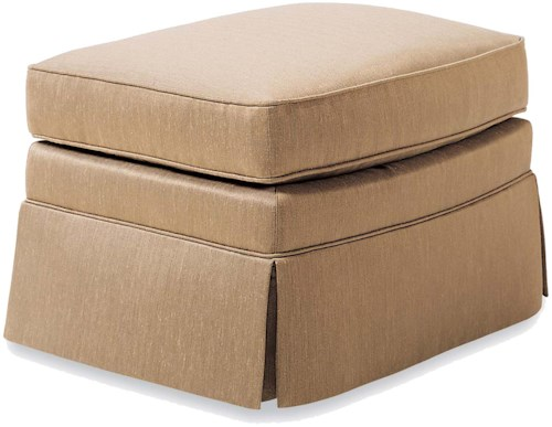 Jessica Charles Fine Upholstered Accents Upholstered Ottoman