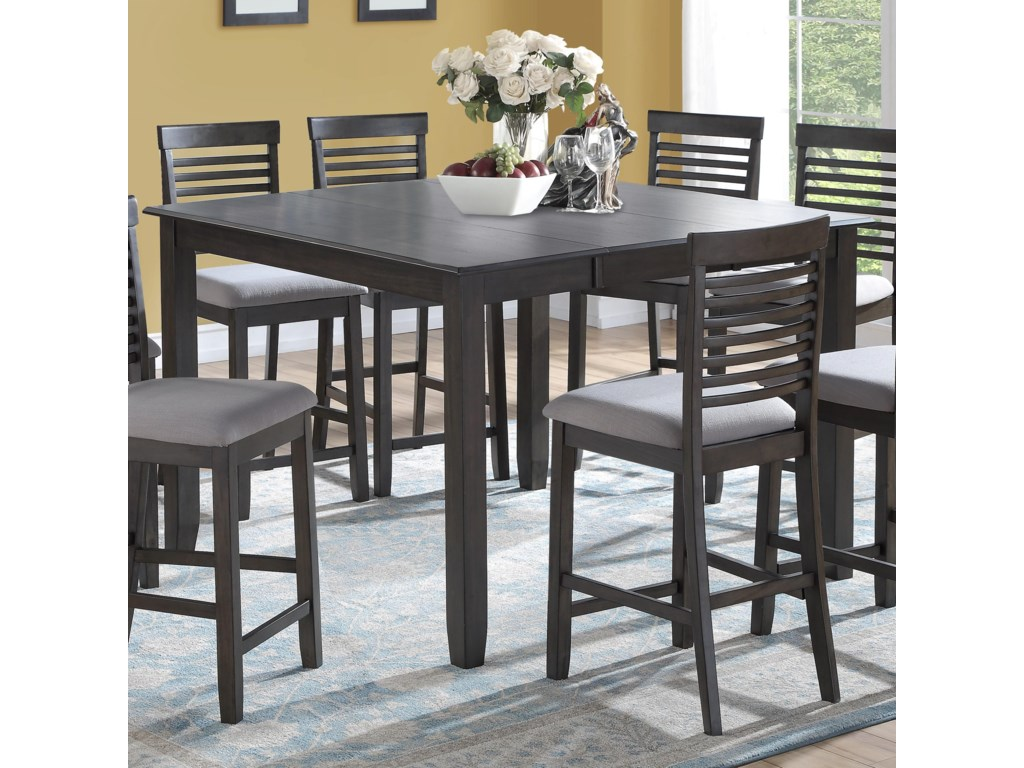 JGW Furniture BartonTable with 8 Chairs