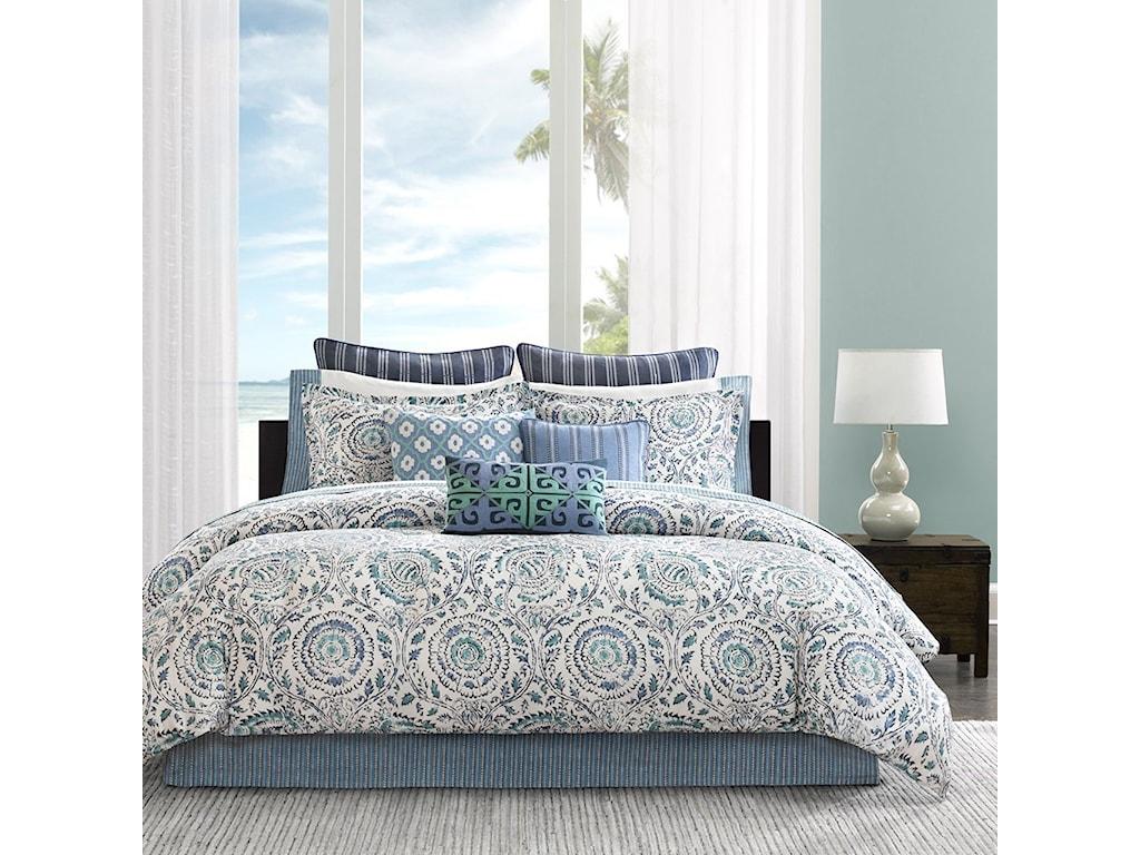 JLA Home Echo DesignQueen Comforter Set