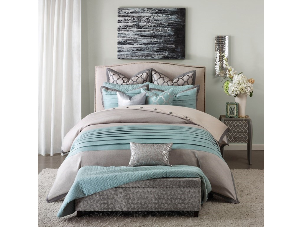 JLA Home Hampton HillKing Comforter Set