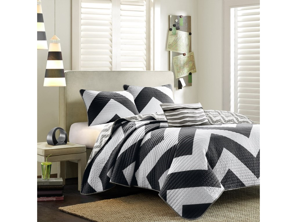 JLA Home Mi ZoneFull/Queen Coverlet Set