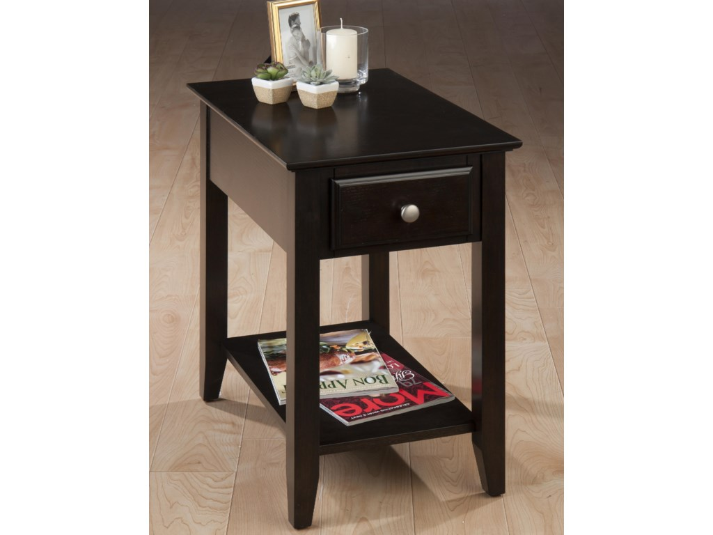 Jofran EspressoChairside Table