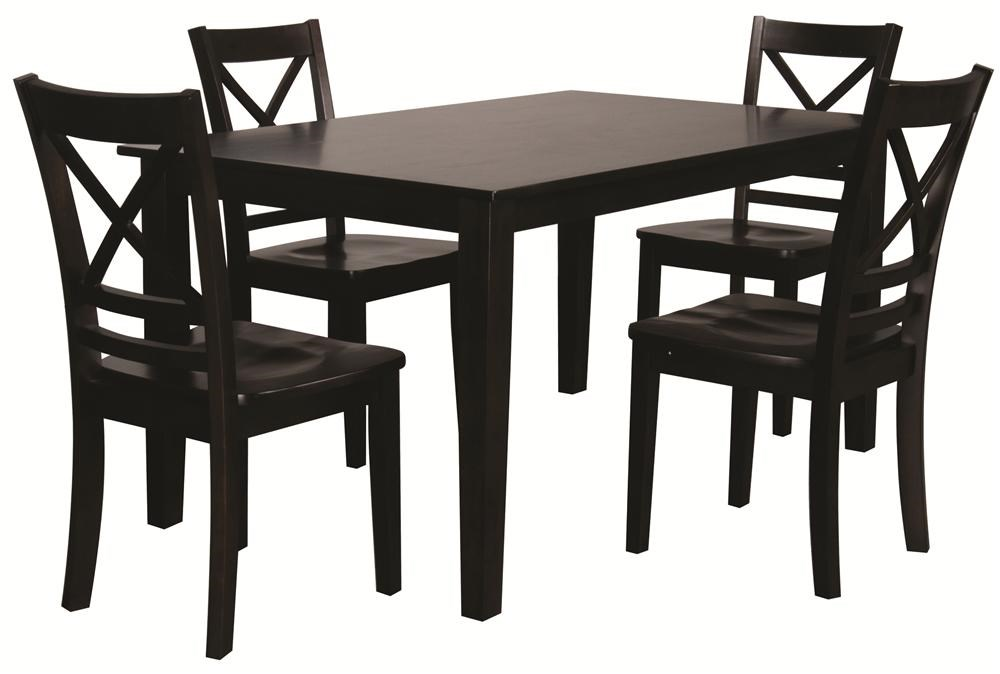 Morris Home Furnishings Trumbull Trumbull 5 Piece Dining Set