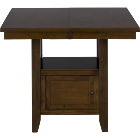 Double Header Counter Height Table