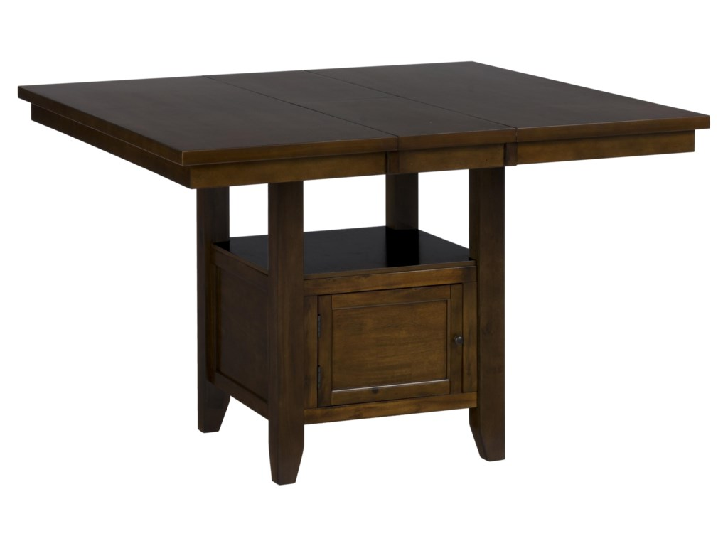 VFM Signature Taylor Brown CherryDouble Header Counter Height Table