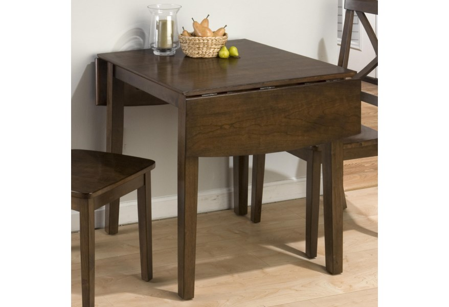 Taylor Cherry Double Drop Leaf Table by Jofran at Dunk & Bright Furniture