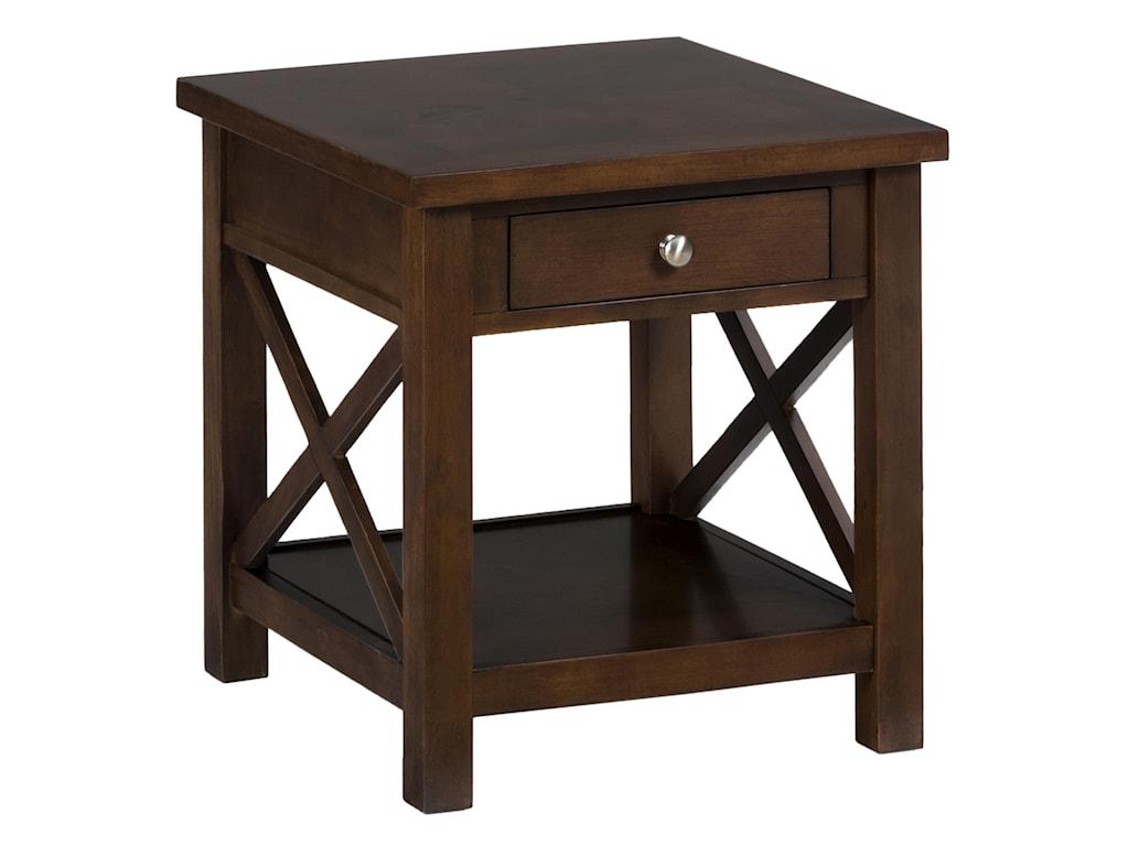 Jofran Xavier BirchEnd Table