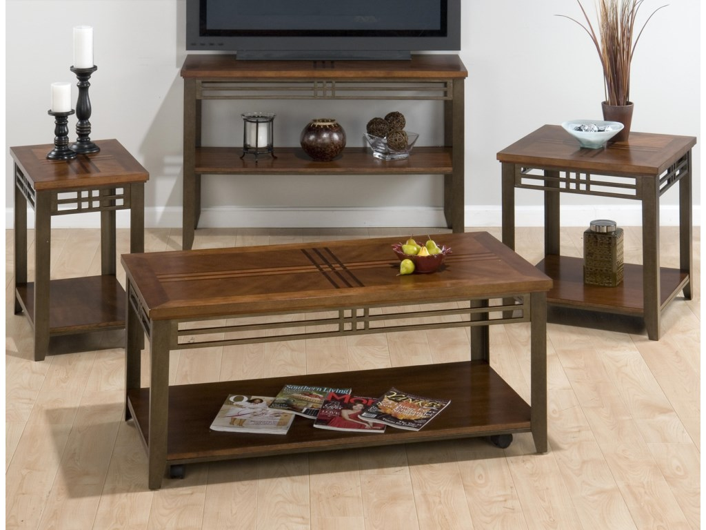 Shown with End Table, Cocktail Table, and Chairside Table