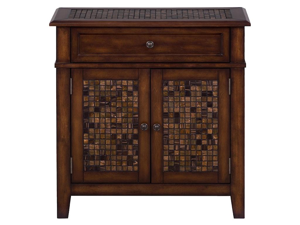 Jofran Baroque BrownAccent Cabinet