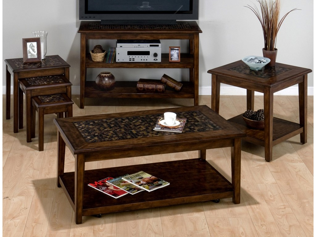 Shown with Coordinating Collection Chairside Tables, Cocktail Table and End Table