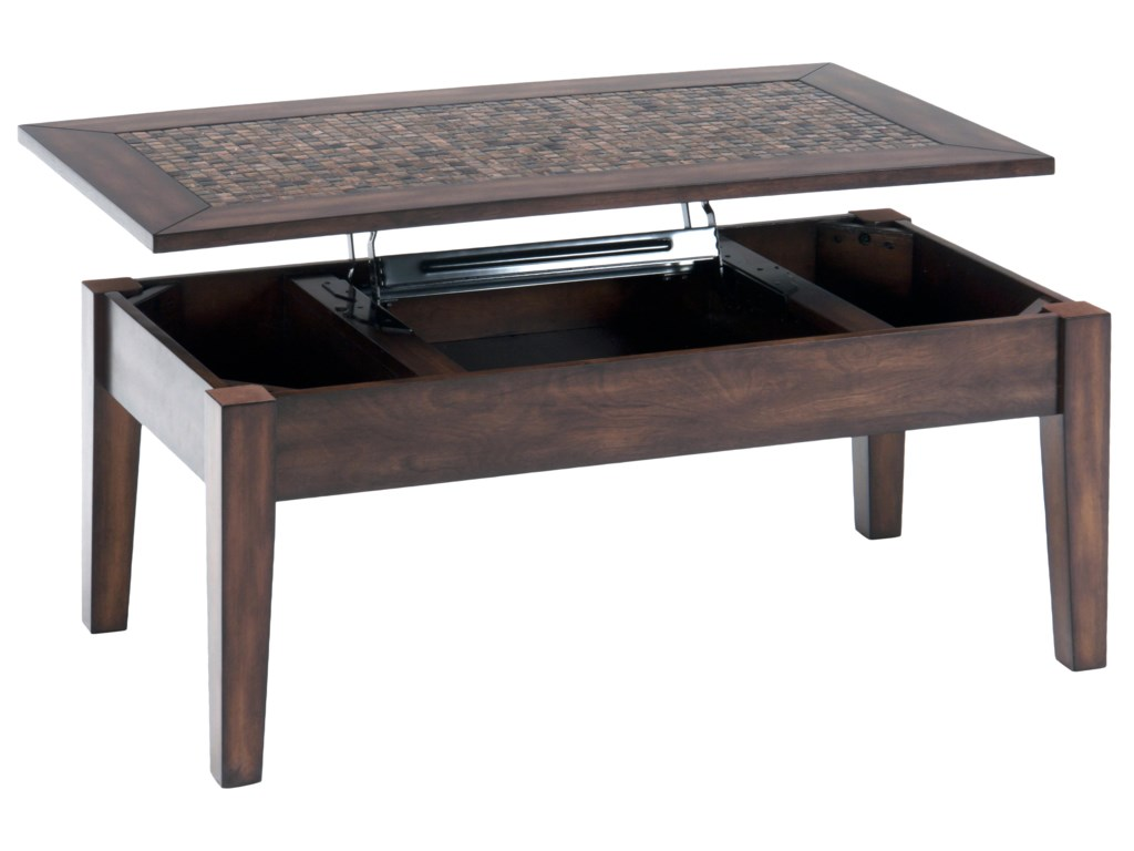 Jofran Baroque BrownLift Top Cocktail Table