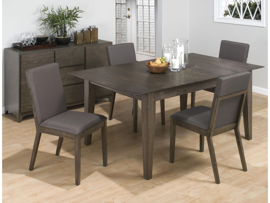 Jofran Antique Gray Ash5-Piece Dining Set