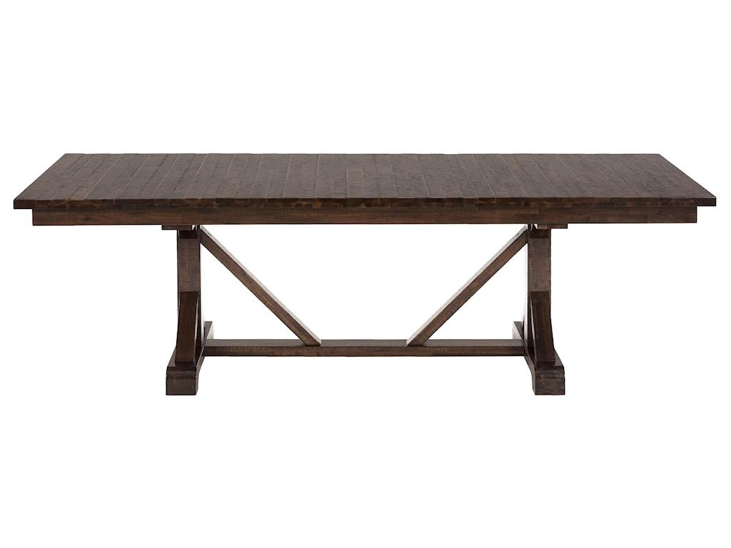 Jofran Urban LodgeRustic Hewn Rectangle Table