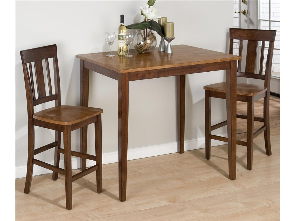 Shown as part of 2-piece counter height table set