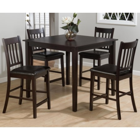5-Piece Pub Table Set