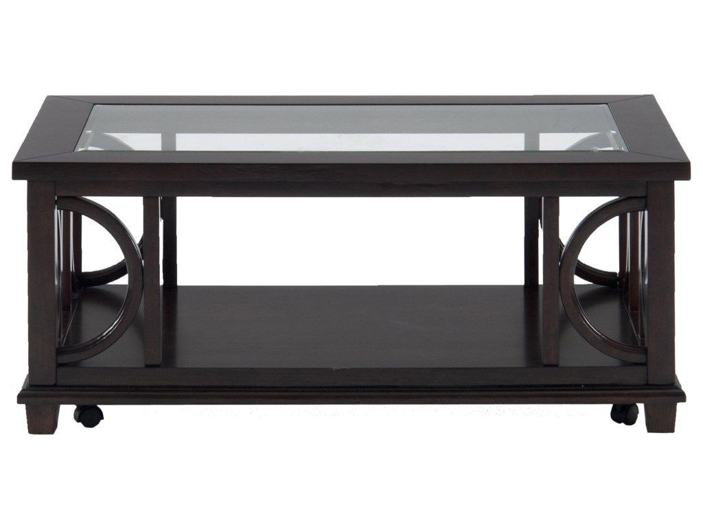 Jofran Panama BrownRectangle Cocktail Table