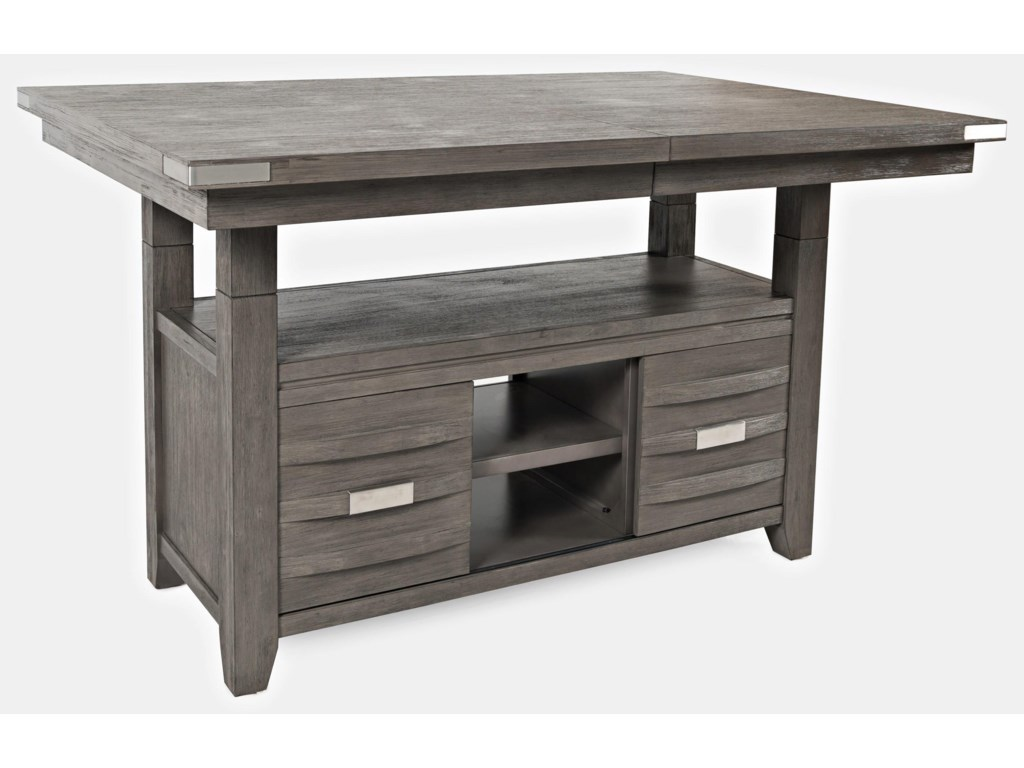 Jofran Altamonte Counter Height Table and 6 Counter Stools