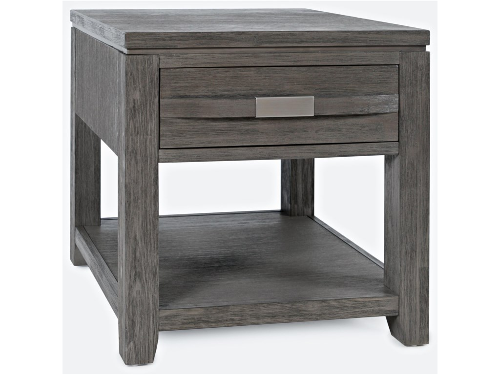 Jofran Altamonte End Table with Shelf