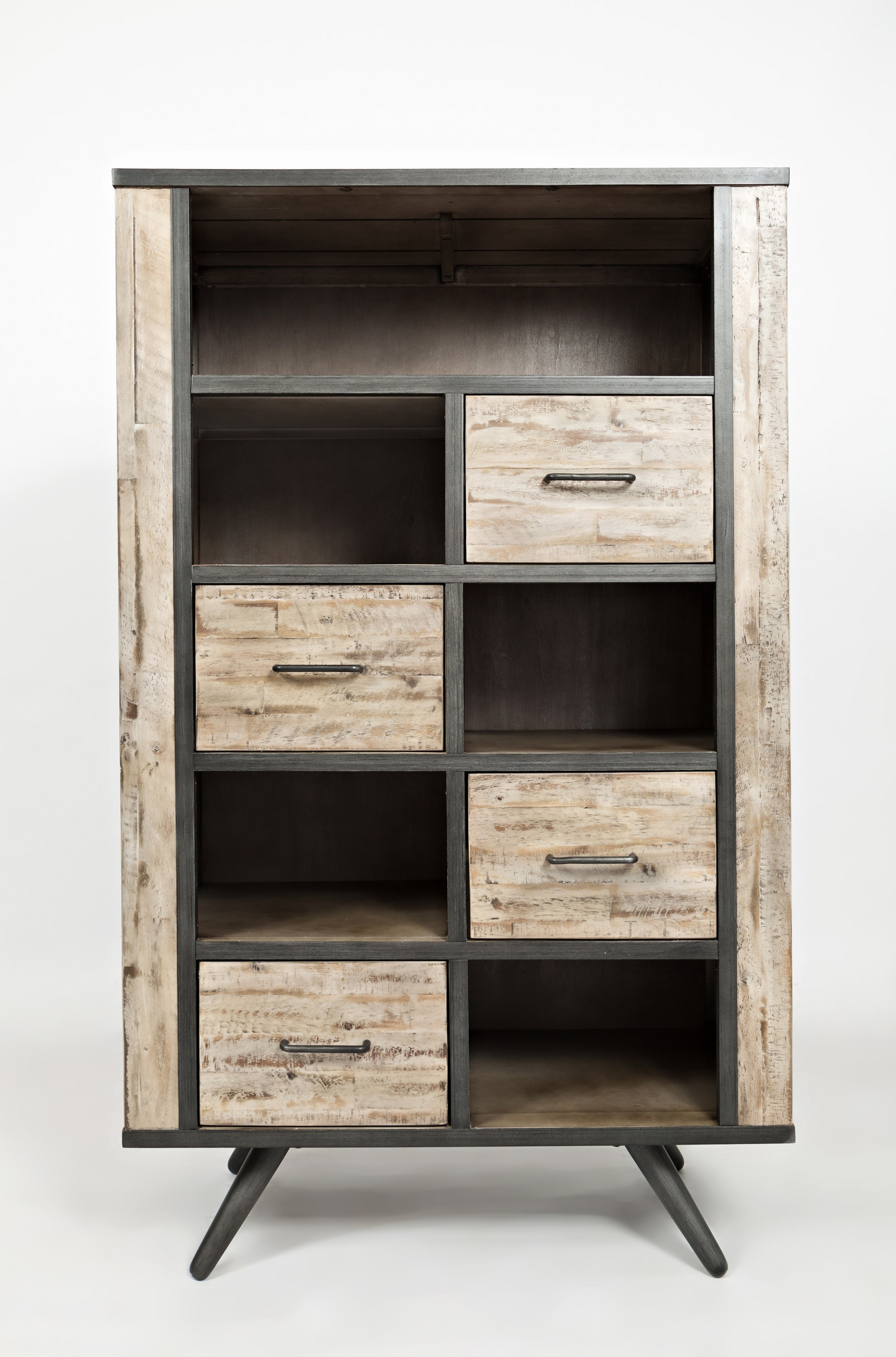 American Retrospective Bookcase By Jofran At Red Knot