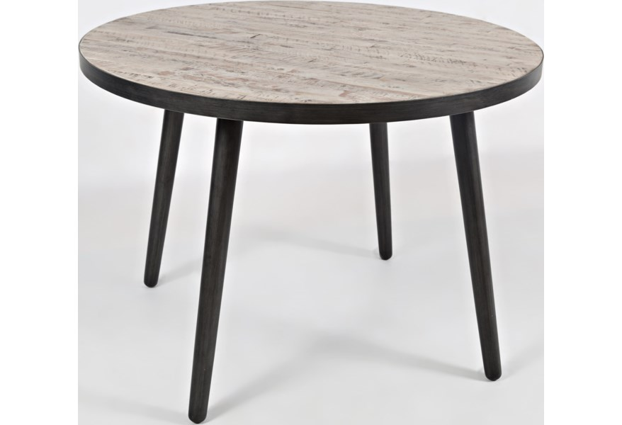 Jofran American Retrospective 1641 42tbkt 42 Round Dining Table Dunk Bright Furniture Dining Tables