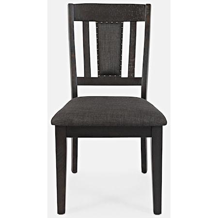 Upholstered Slatback Dining Chair