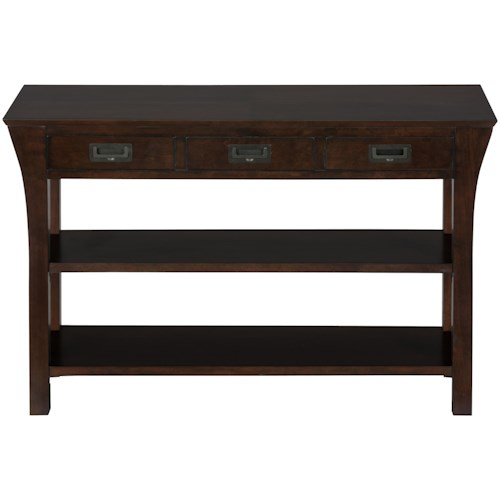 Jofran Artisan Sofa or Media Table with Drawers