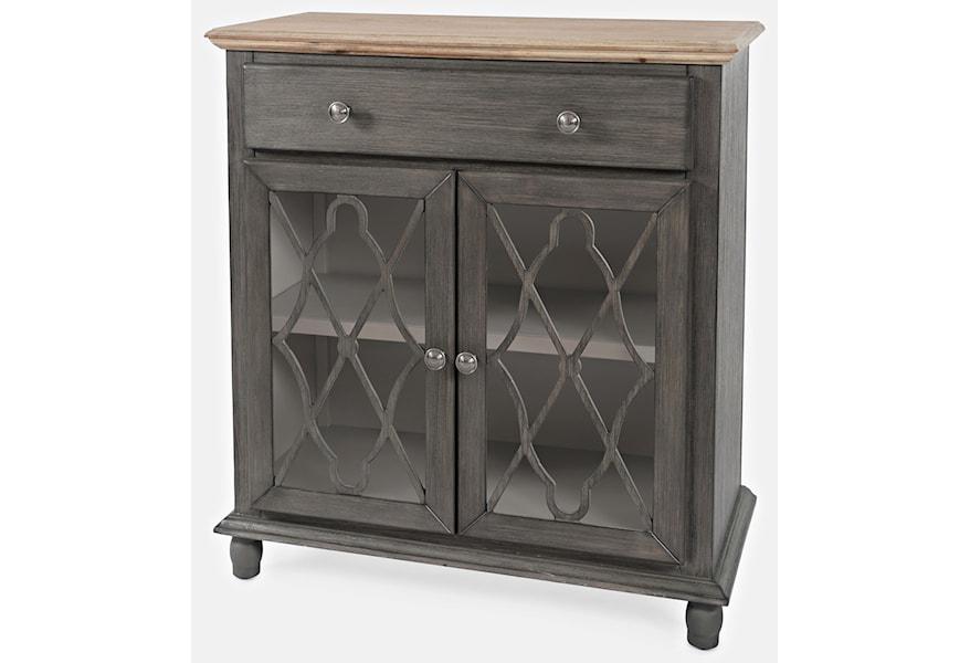 Jofran Aurora Hills 1999 31 2 Door Accent Chest Furniture And Appliancemart Accent Chests