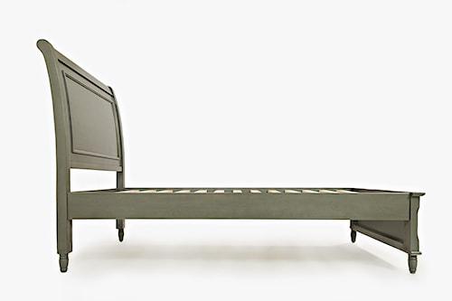 Jofran Oakley: Grey Twin Panel Bed