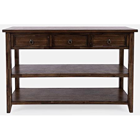 Sofa Table w/ 3 Drawers
