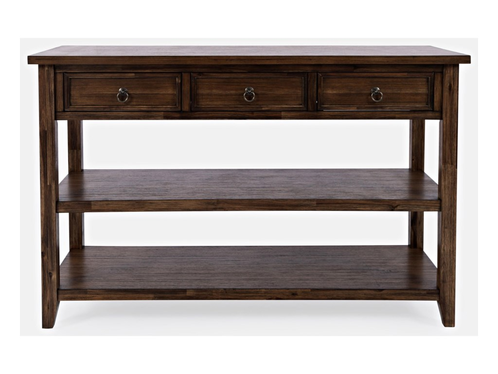 Jofran BakersfieldSofa Table w/ 3 Drawers