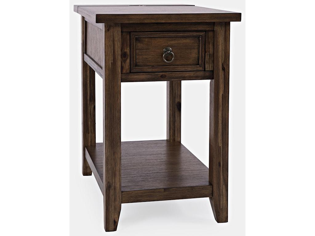 Jofran BakersfieldPower Chair Side w/ Drawer