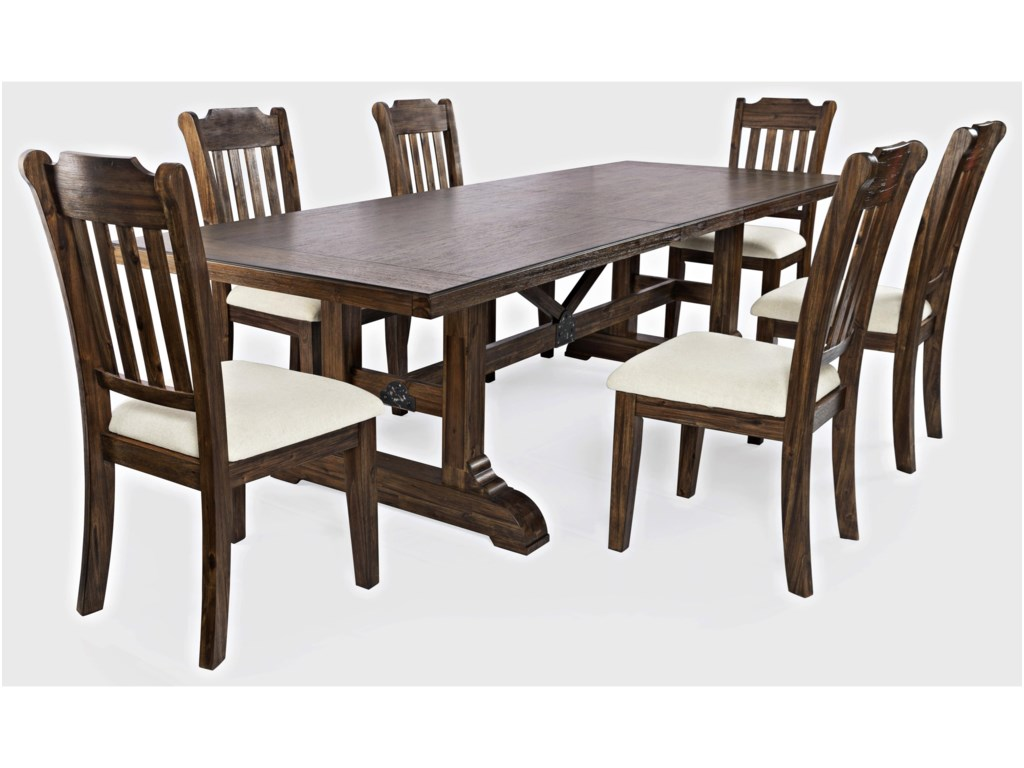 Jofran Bakersfield7-Piece Dining Table and Chair Set