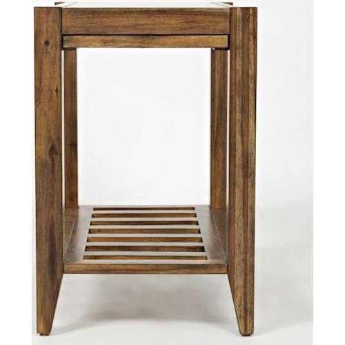 Jofran Beacon Street Chairside Table