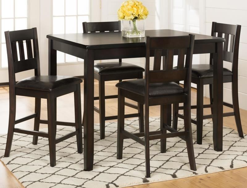 Morris Home Furnishings BerkelyBerkeley 5 Piece Counter Height Dining Set