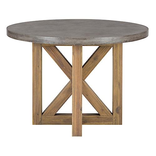 Jofran Boulder Ridge Concrete Dining Table- Round