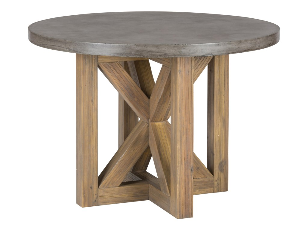 Jofran Boulder RidgeConcrete Dining Table- Round