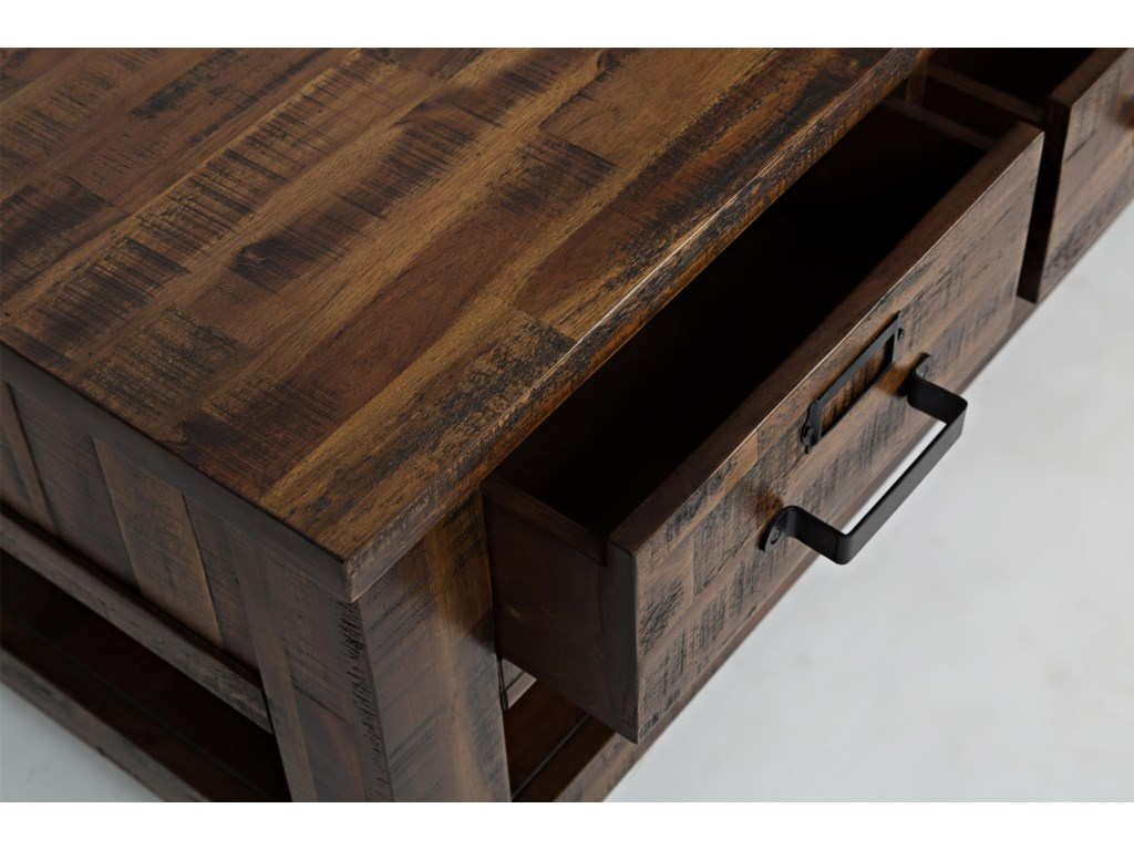 Jofran DurangoThree Drawer Cocktail Table