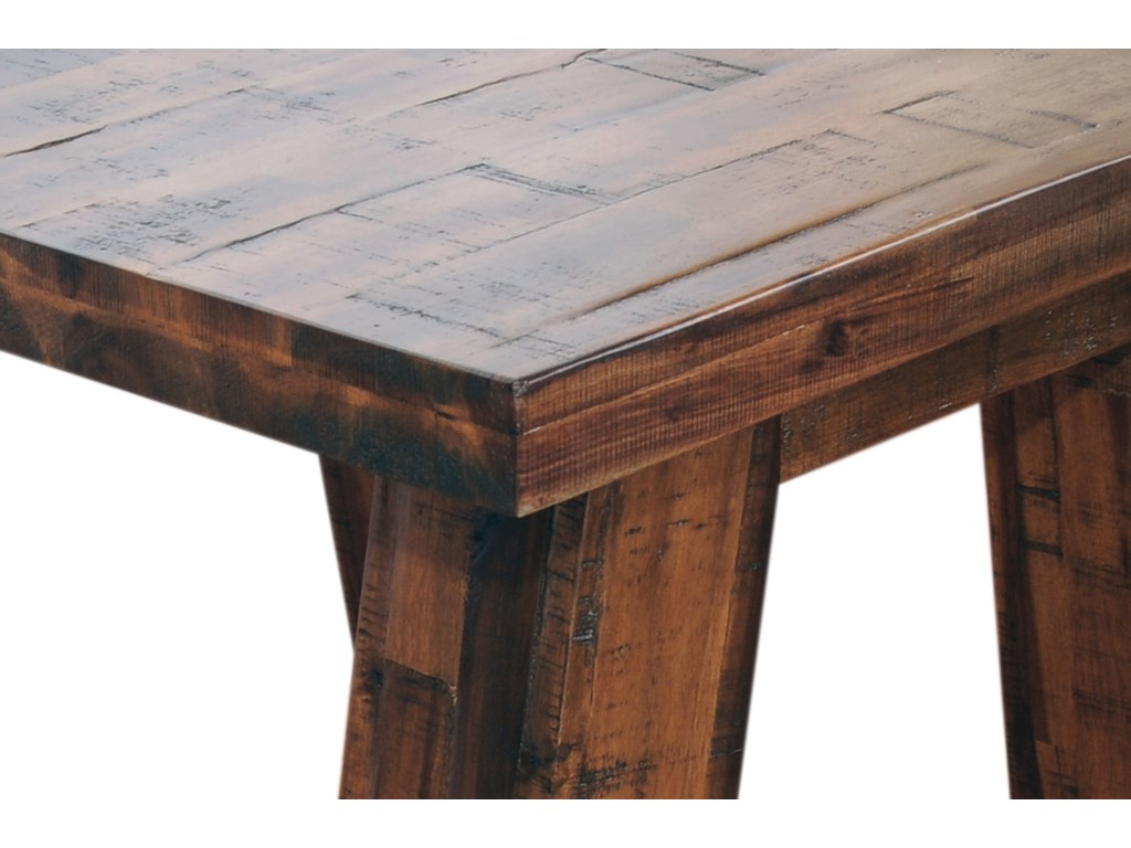 Jofran Cannon ValleyTrestle End Table