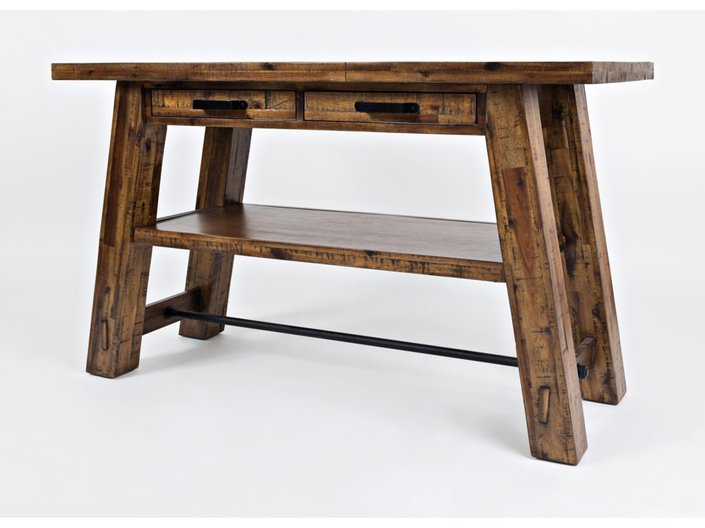Jofran Cannon ValleySofa Table