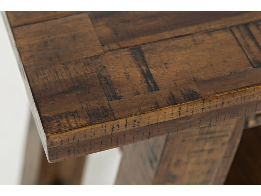 Jofran Cannon ValleyTrestle Sofa Table