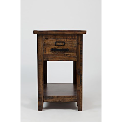 Jofran Calvin One Drawer Chairside Table