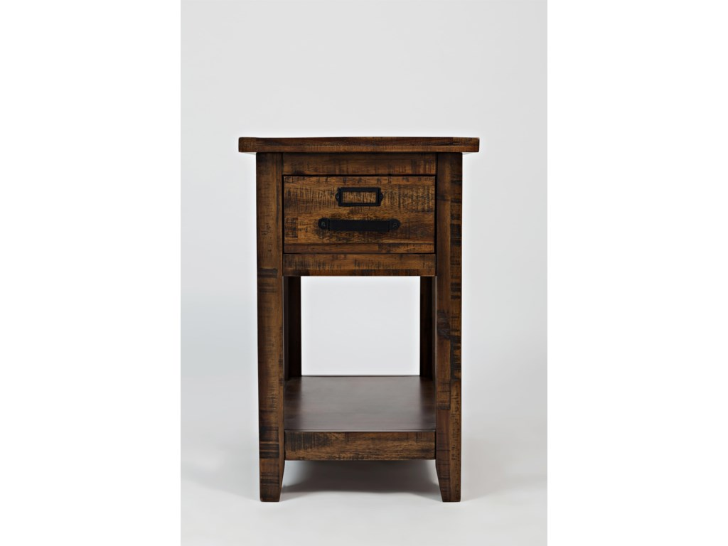 Jofran Cannon ValleyOne Drawer Chairside Table