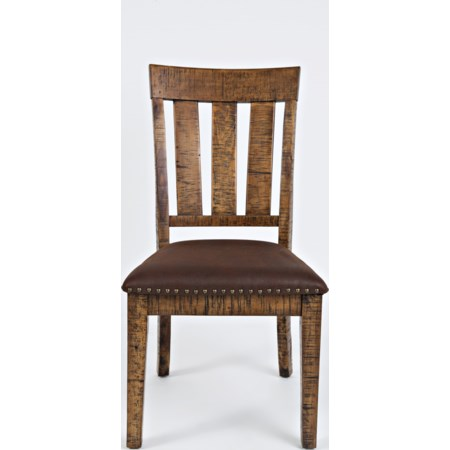 Chair with Upholstered Seat