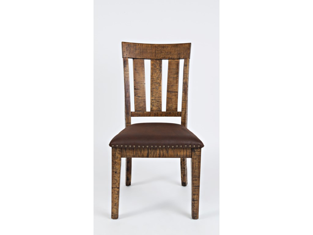 Jofran Cannon ValleyChair with Upholstered Seat