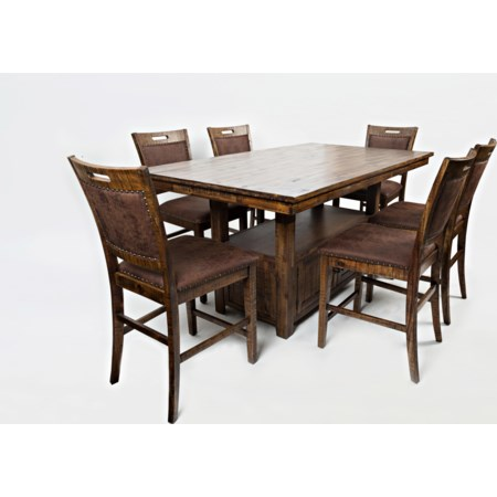High/Low Table and Chair Set