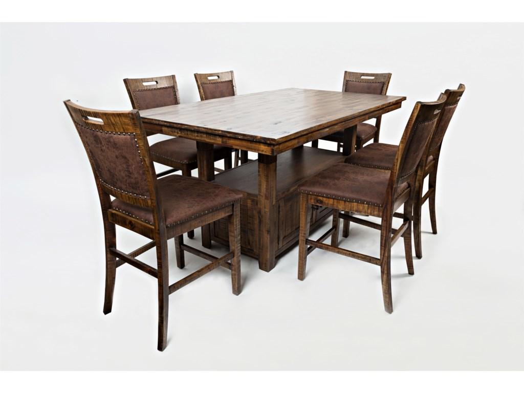 Jofran Cannon ValleyHigh/Low Table and Chair Set